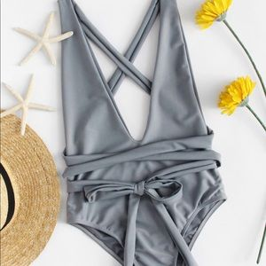 Other - Sexy tie one piece swimsuit